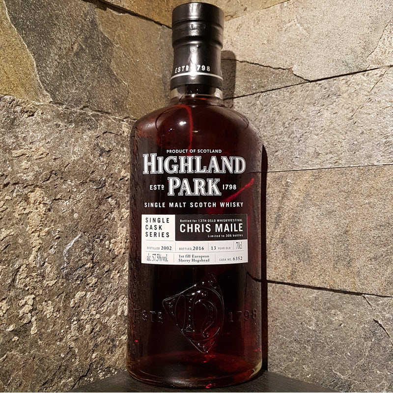 Highland Park Single Cask Chris Maile Edition
