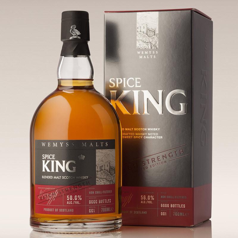 Spice King Batch Strength 001 (Wemyss Malts)