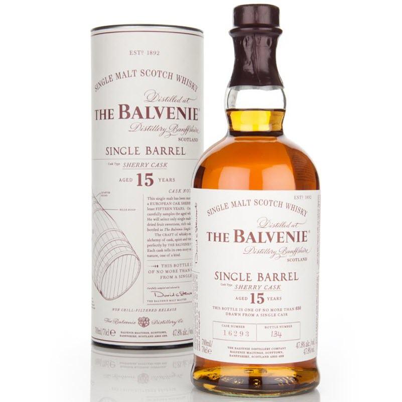 Balvenie 15 YO Single Barrel Sherry Cask #11285