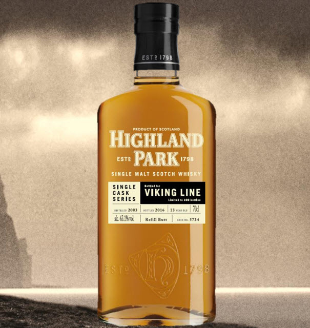 Highland Park 2003 13 YO Bottled for Viking Line