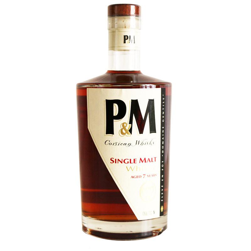 P&M 7 YO Corsican Whisky
