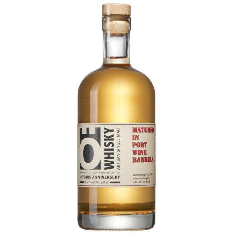 Nordic Whisky #137 - Wannborga 5 YO Ö Whisky - 10 Years Anniversary