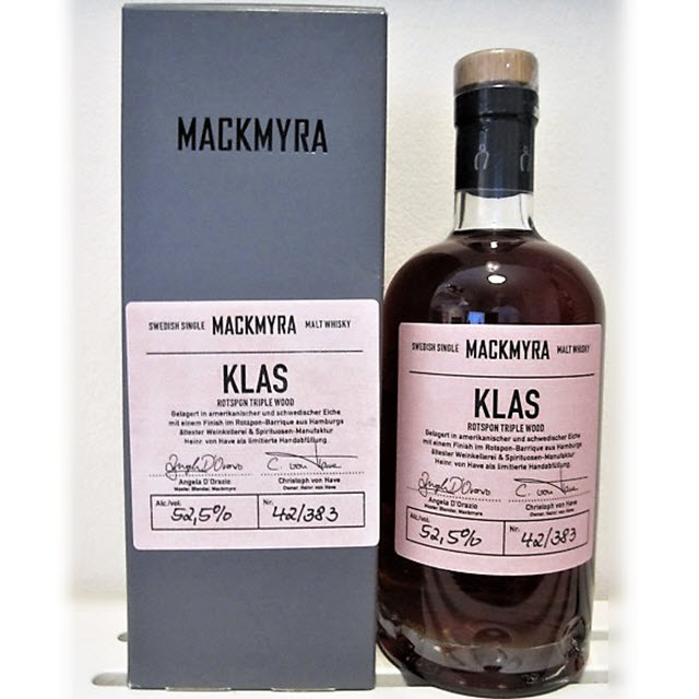 Nordic Whisky #168 - Mackmyra Klas Rotspon Triple Wood