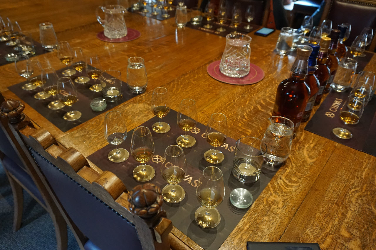 Visiting Strathisla - the tasting 2