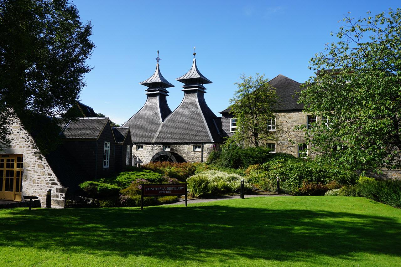 Visiting Strathisla - the distillery