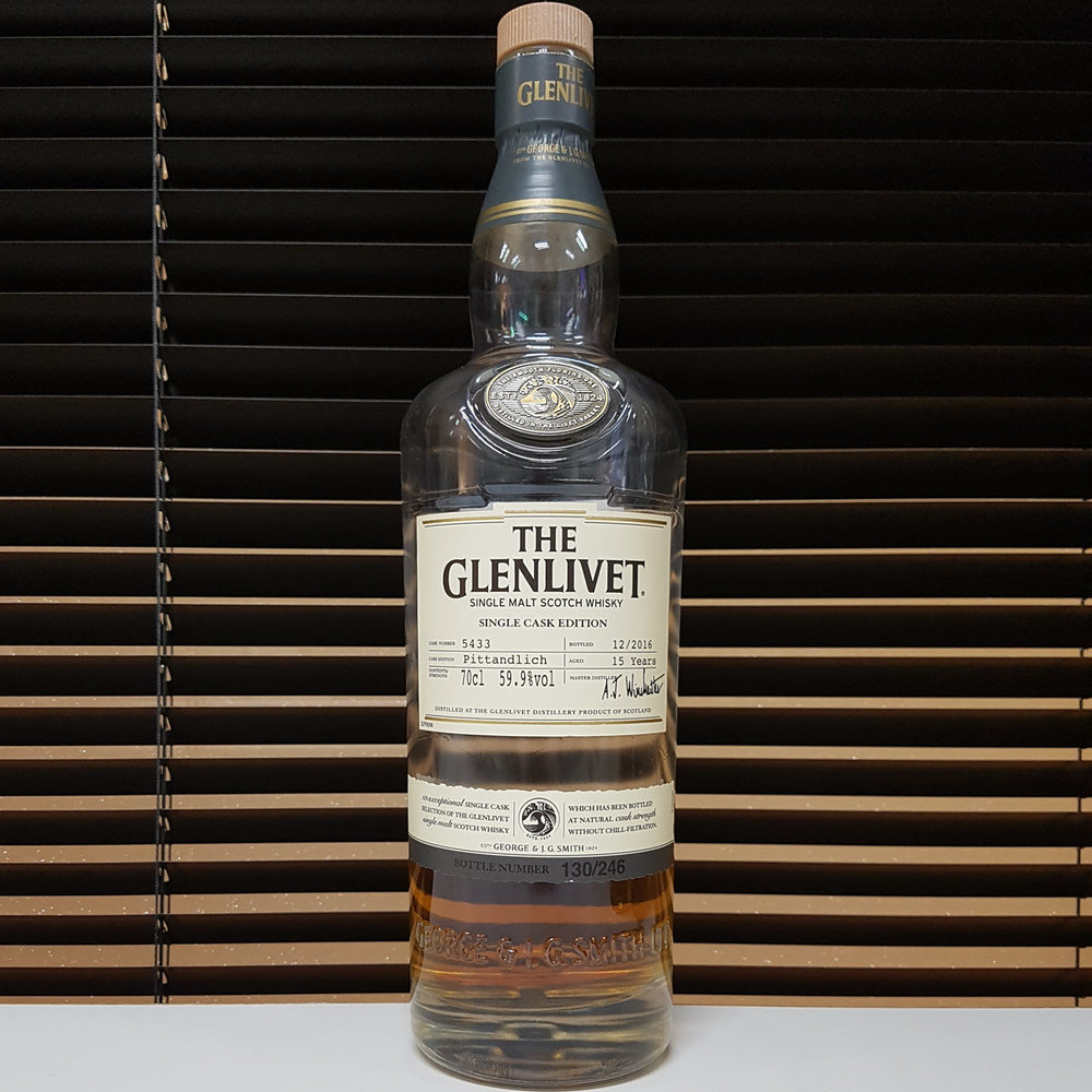 The Glenlivet Pittandlich