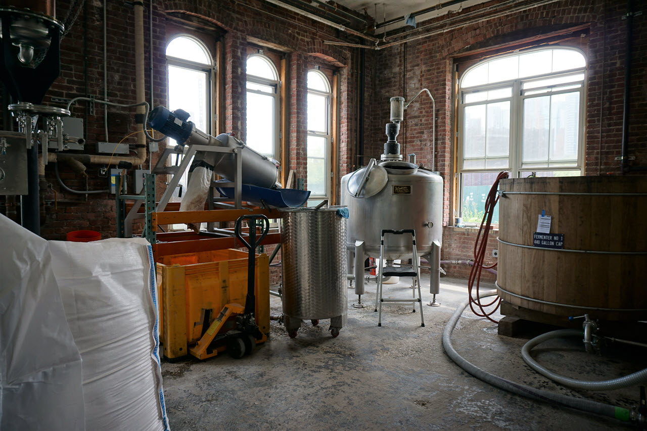 Kings County Distillery - production floor