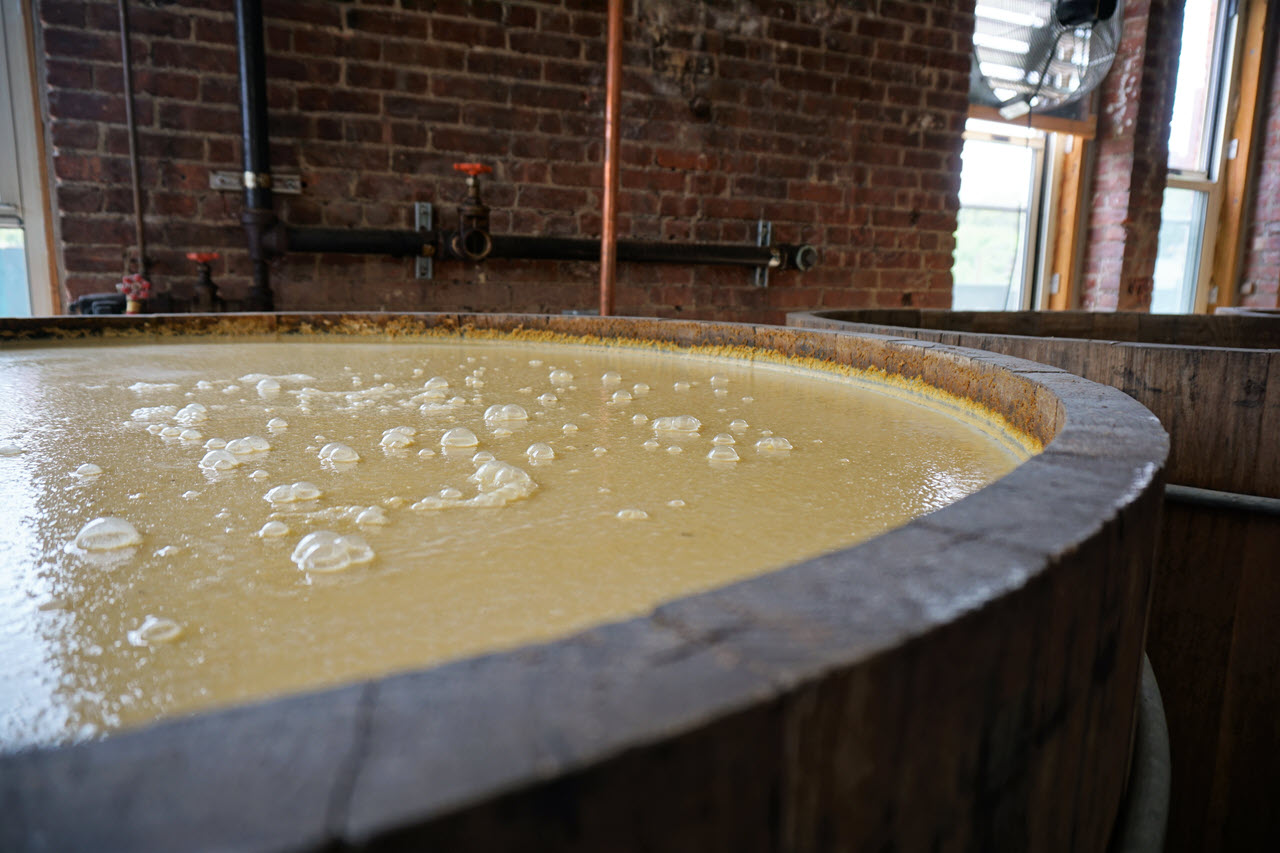 Kings County Distillery - fermentation vat