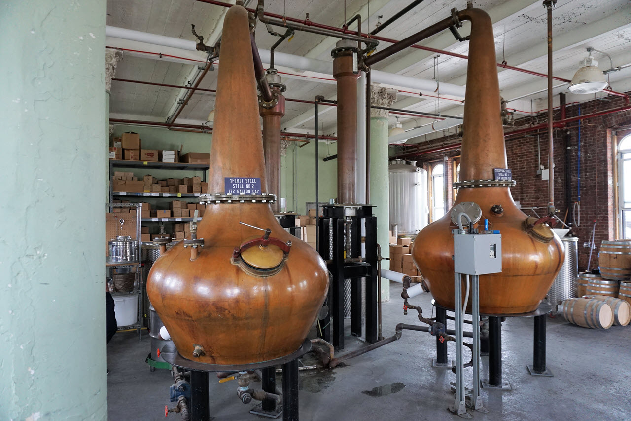 Kings County Distillery - the stills