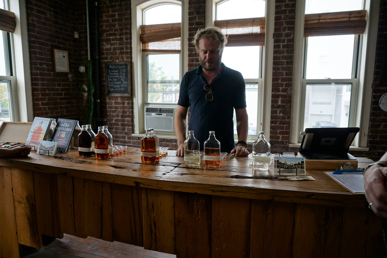 Kings County Distillery - the tasting