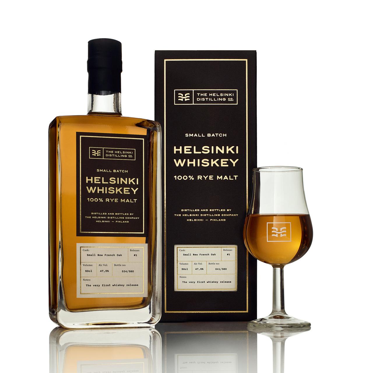 Nordic Whisky #183 - Helsinki Distilling Company 100 % Rye Malt