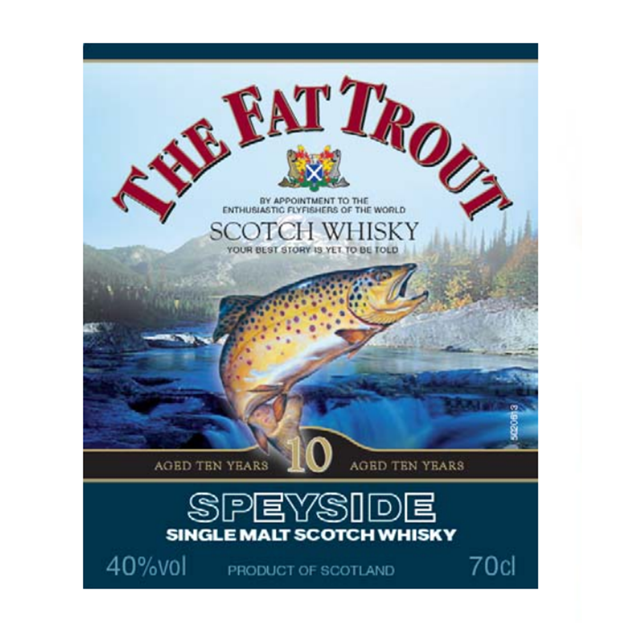 Fat Trout 10 YO Speyside Single Malt