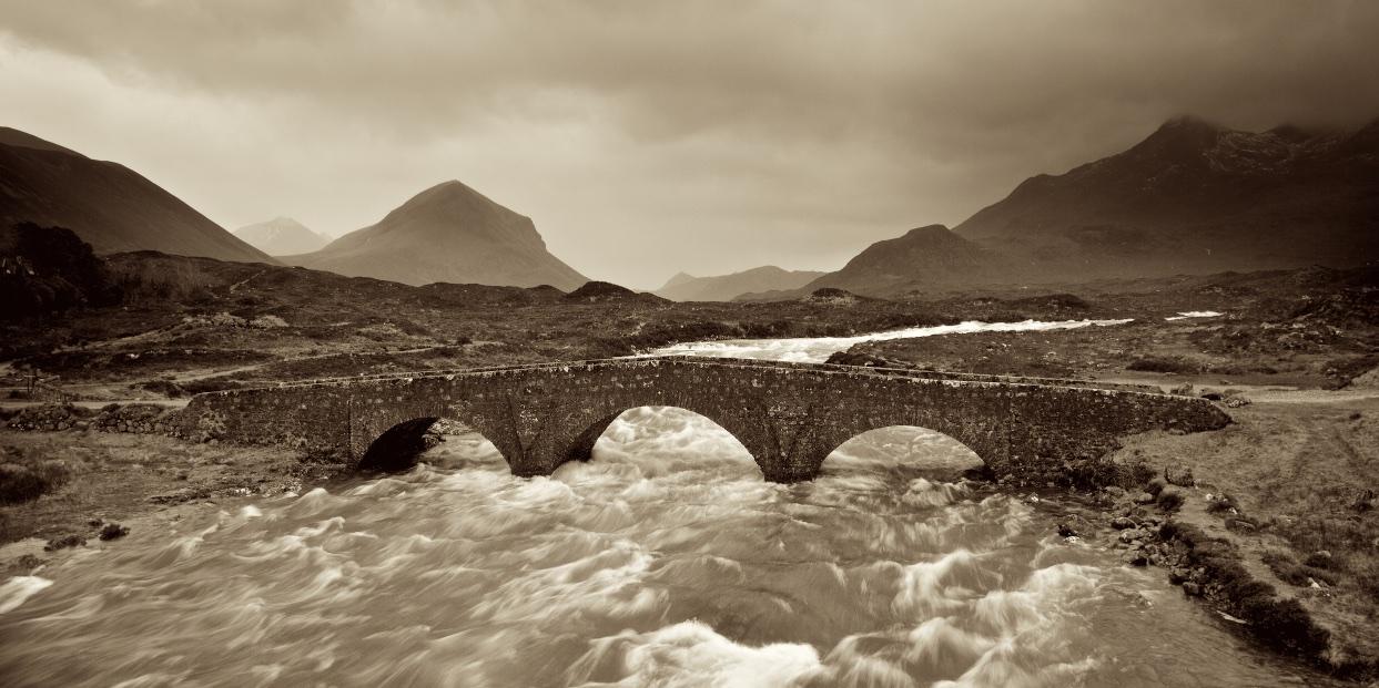 TheArt in Whisky - The Sligachan Bridge on the Isle of Skye