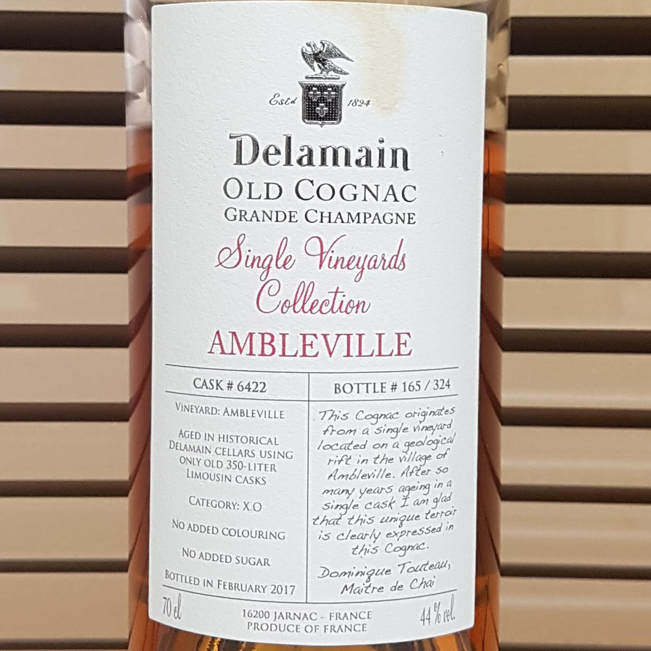 Delamain Grande Champagne Ambleville