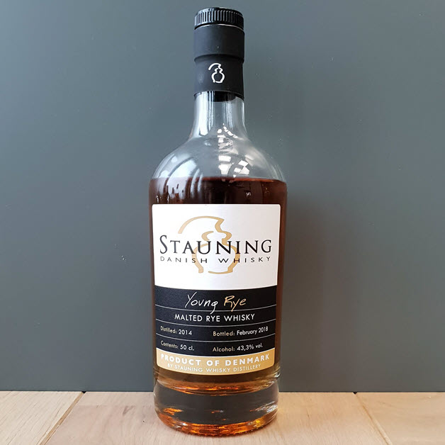 Nordic whisky #205 - Stauning Young Rye February 2018