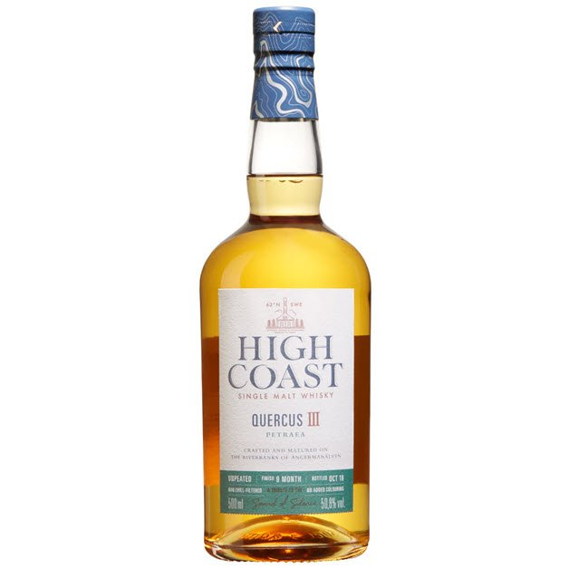 Nordic whisky #208 - High Coast Quercus III - Petraea - detail