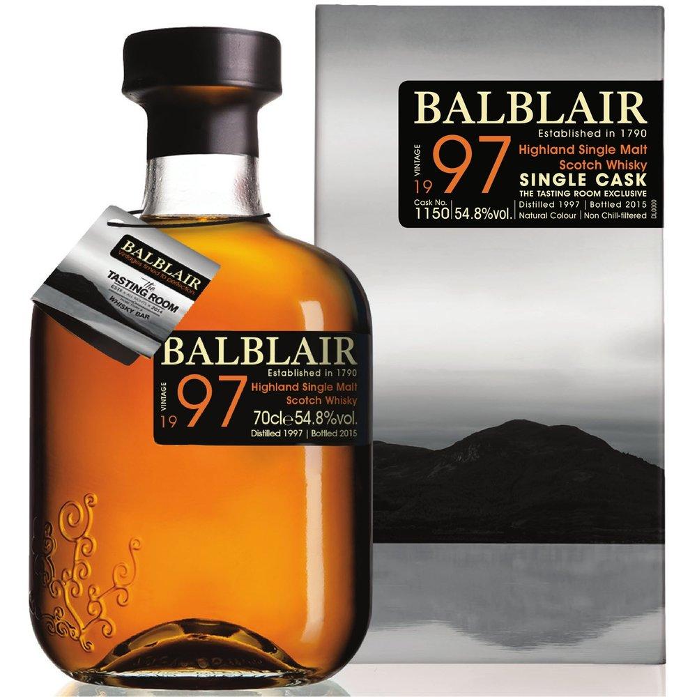Balblair The Tasting Room Exclusive 1997 Vintage — Whisky Saga