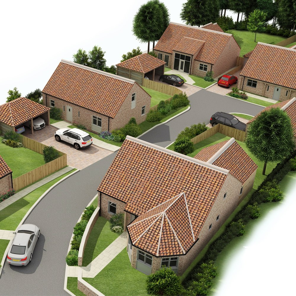 Woodbyne Way, Stillington - A development of 5 large family homes in the desirable village of StillingtonAll homes due for completion Spring 2019