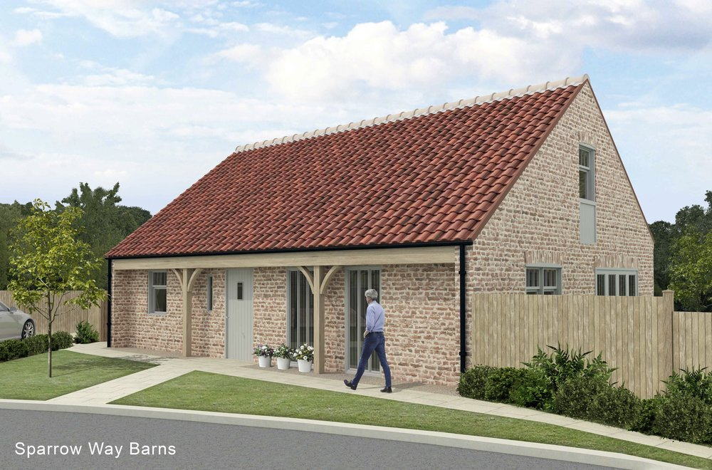 Plough Cottage - Plot 1 - Sold STCA charming 3/4 bedroom detached property to the north of the development.