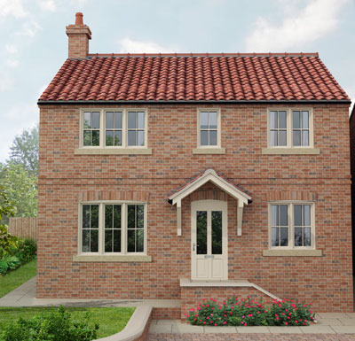 Farrier's House - Plot 4 - SoldA 4 bedroom family home with terraced gardens and glazed orangery.