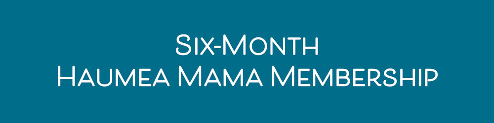 $594/6 months(savings of $120) - Unlimited classes. Unlimited support groups. Join us as a Haumea Mama member! Membership benefits include:• In-studio storage for your mat• Exclusive members-only events• 10% off retail items• 10% off workshops• Three (3) childcare passes per month