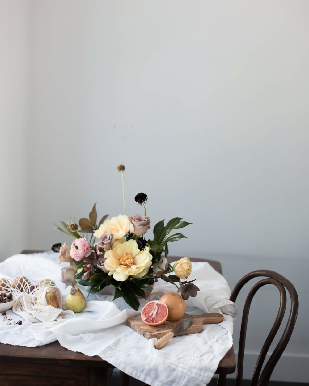 on the blog - our candle journey started with flowers