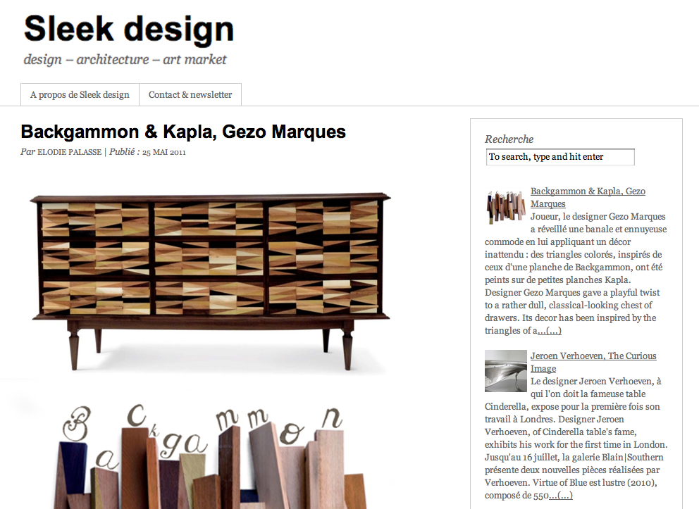 http://www.sleekdesign.fr/2011/05/25/backgammon-kapla-gezo-marques/#.XArJ8XT7SUk
