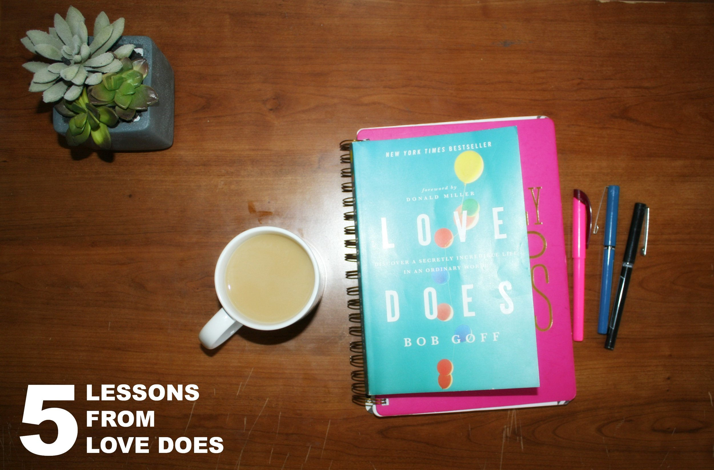 Lessons from Love Does