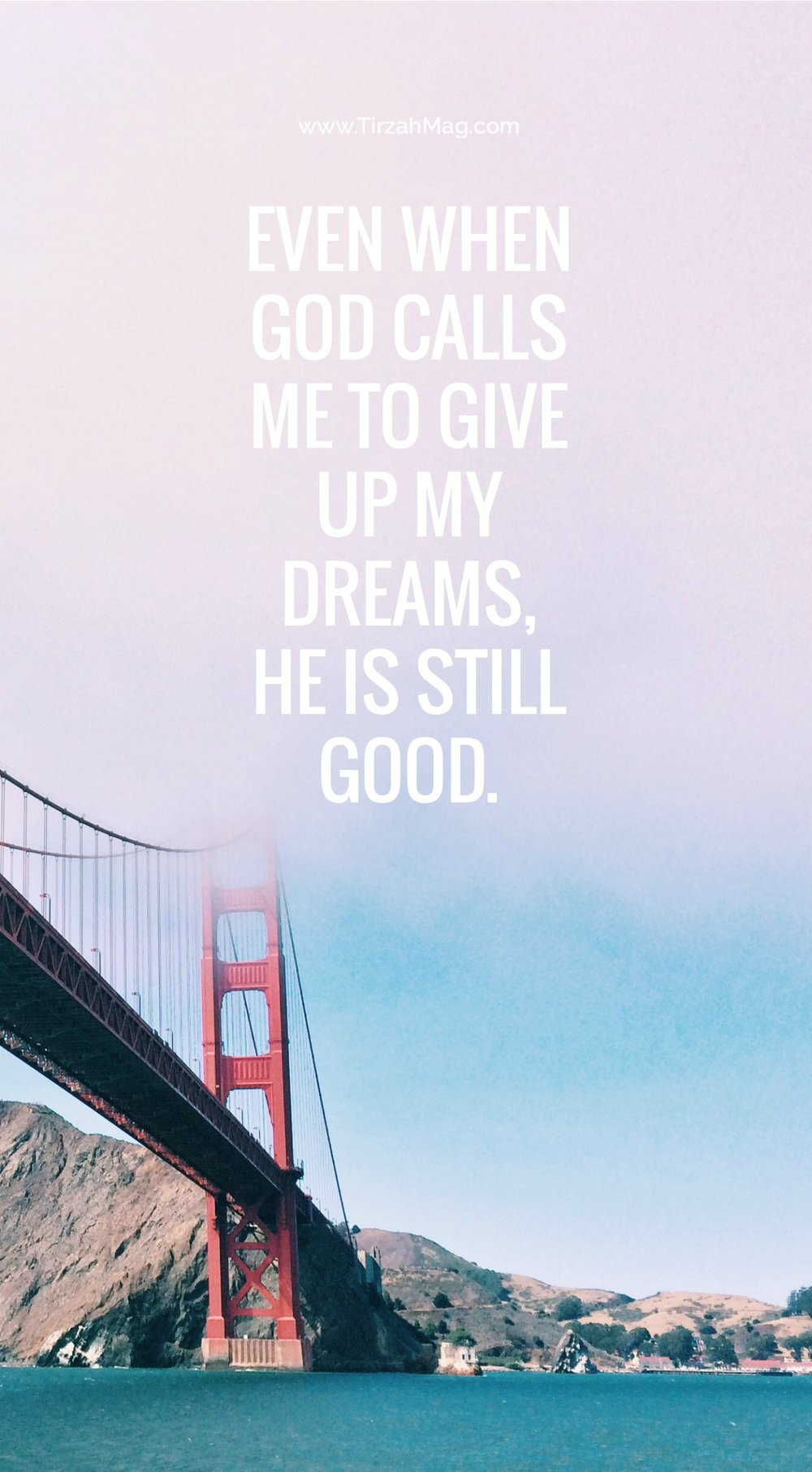 What to do when God calls you to give up your dreams