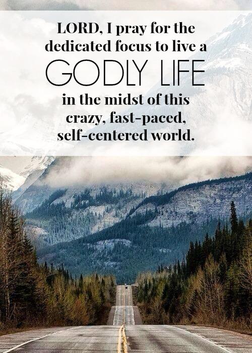 Godly life