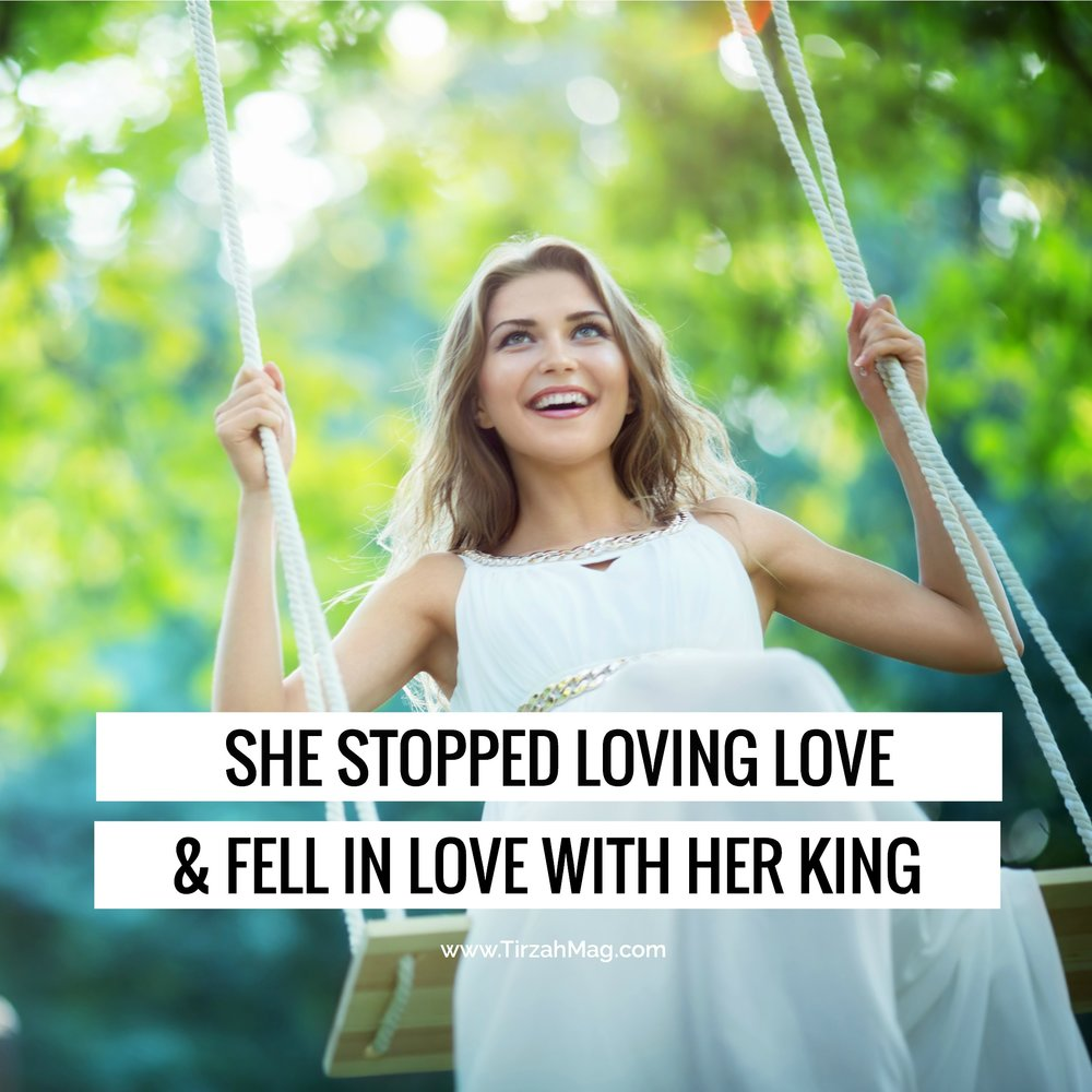 Above all, she loved her King