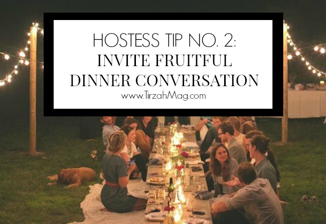 5 Tips For Your Dinner Soiree - Tip No. 2