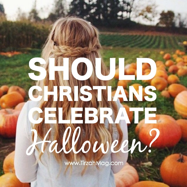 Great post on what the Bible says about Halloween in Tirzah Magazine
