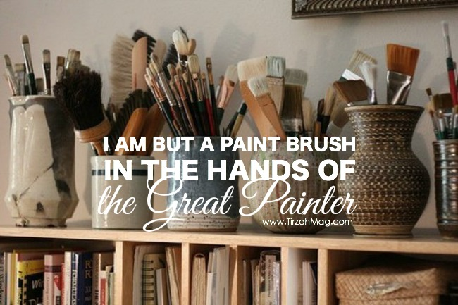 In The Hands of the Great Painter via Tirzah Magazine