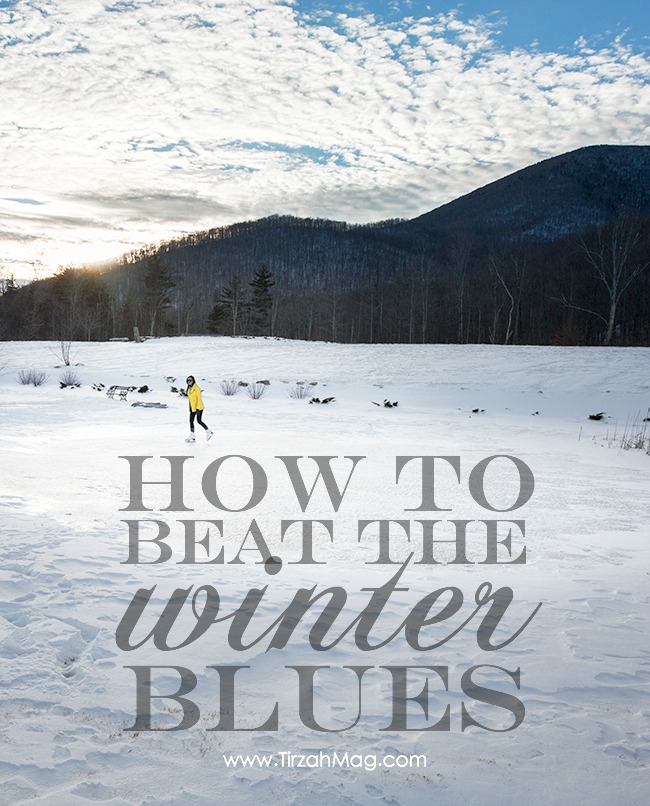Fighting the Winter Blues via Tirzah Magazine