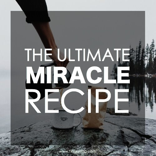 The Miracle Recipe via Tirzah Magazine