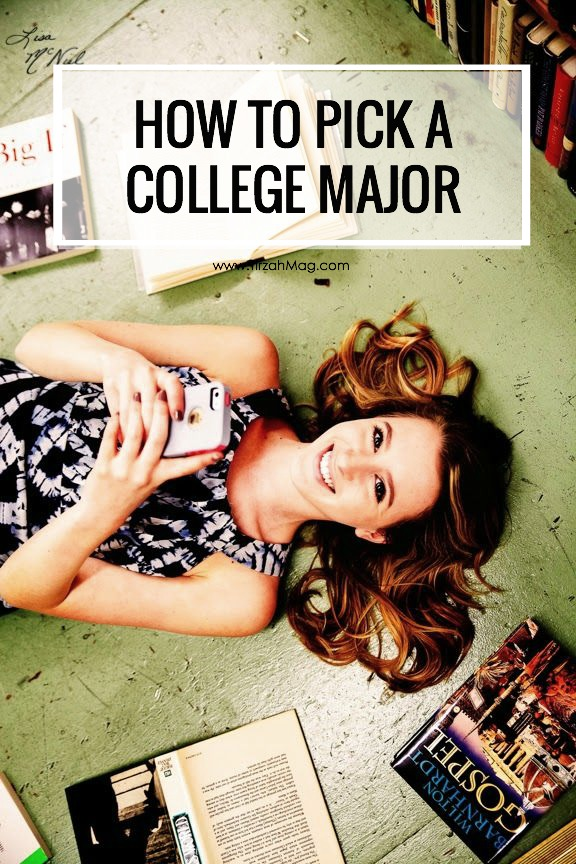 Finding a Major He Agrees With