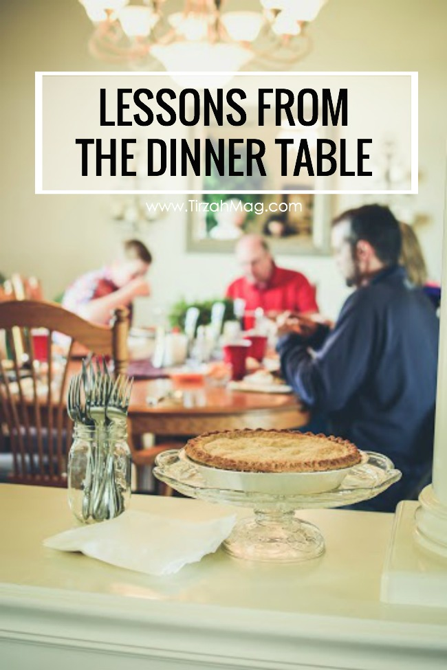 Lessons in Faith Around the Dinner Table