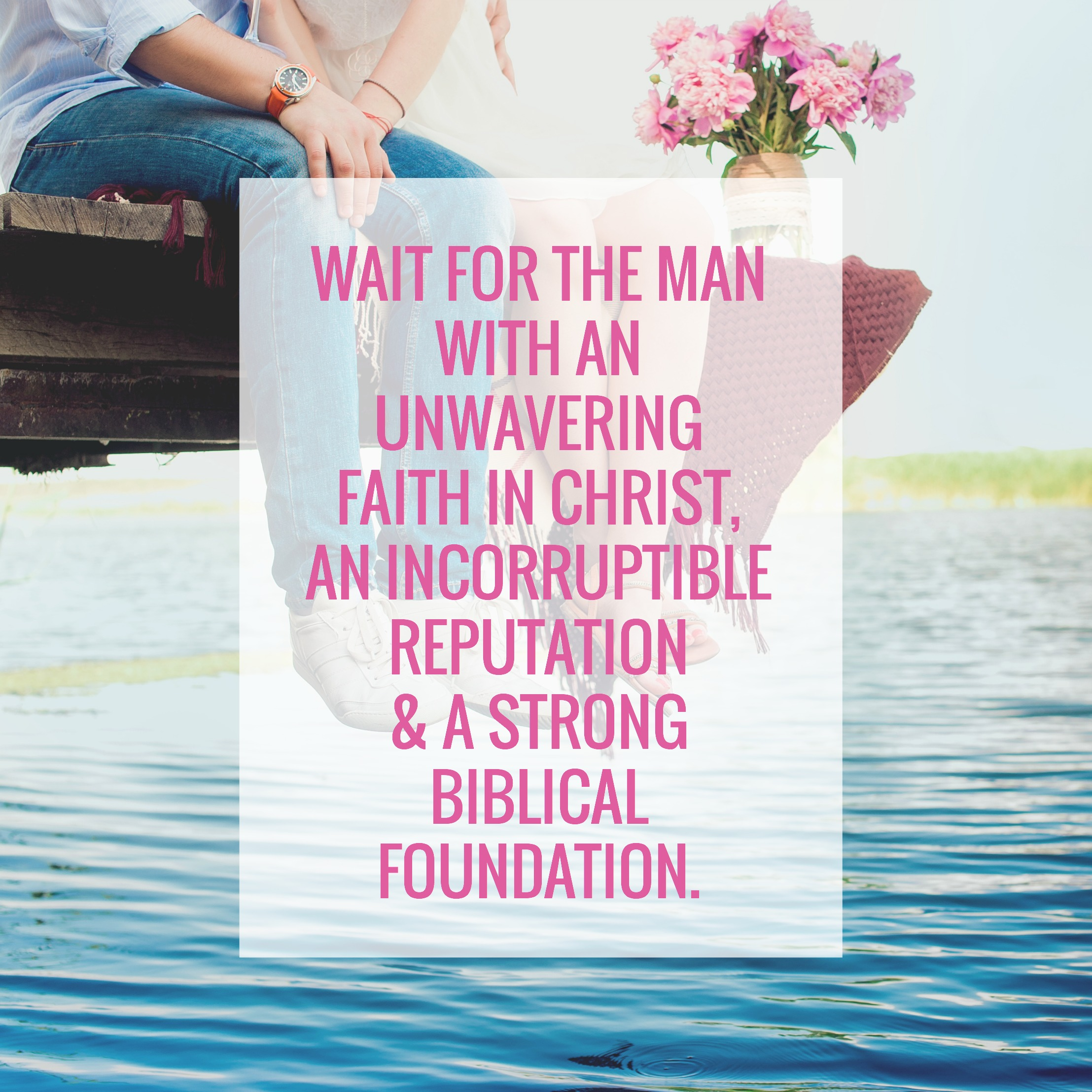 The Three C's for Single Christian Women