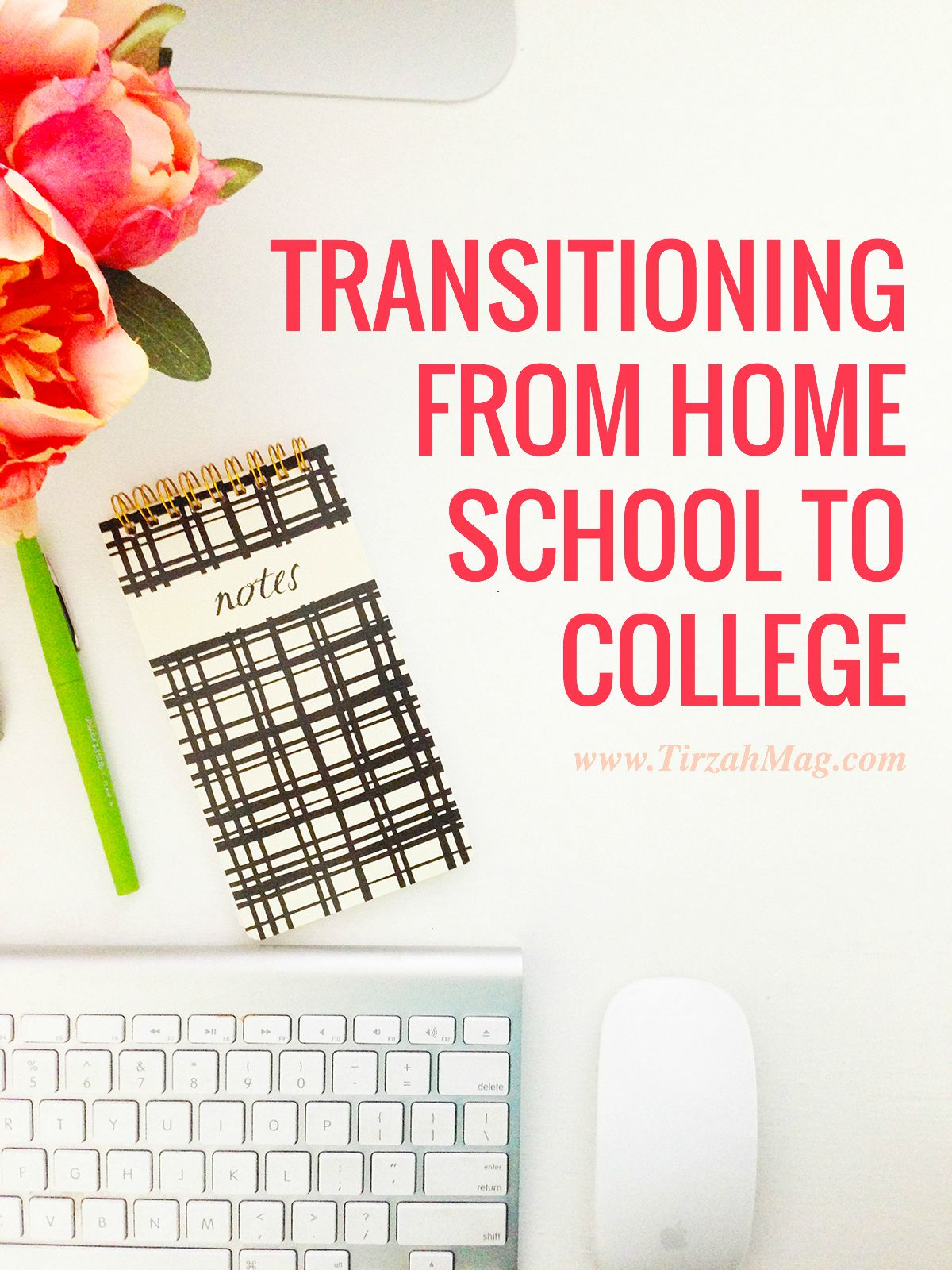 Transitioning from home school to college