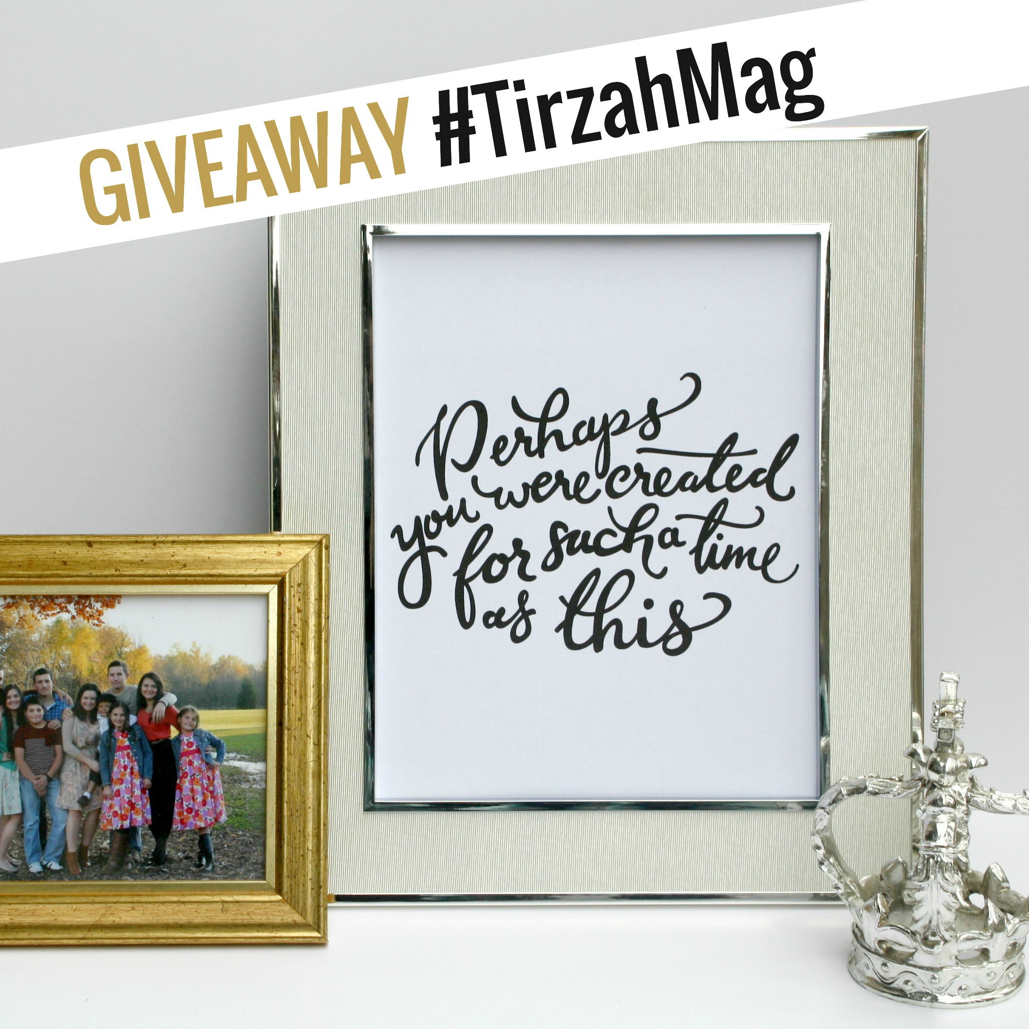 giveaway with Tirzah Mag
