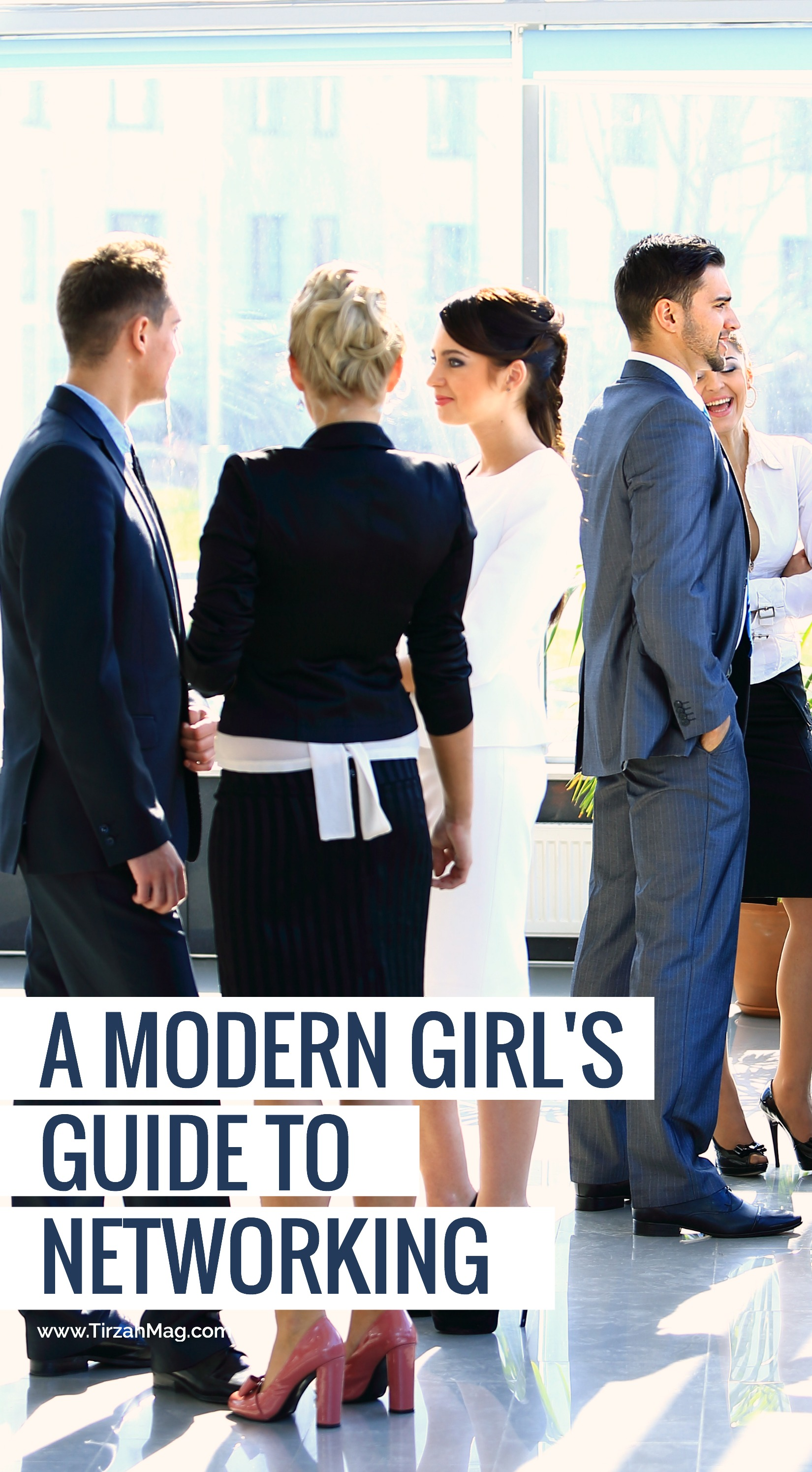 A modern girl's guide to networking and building relationships