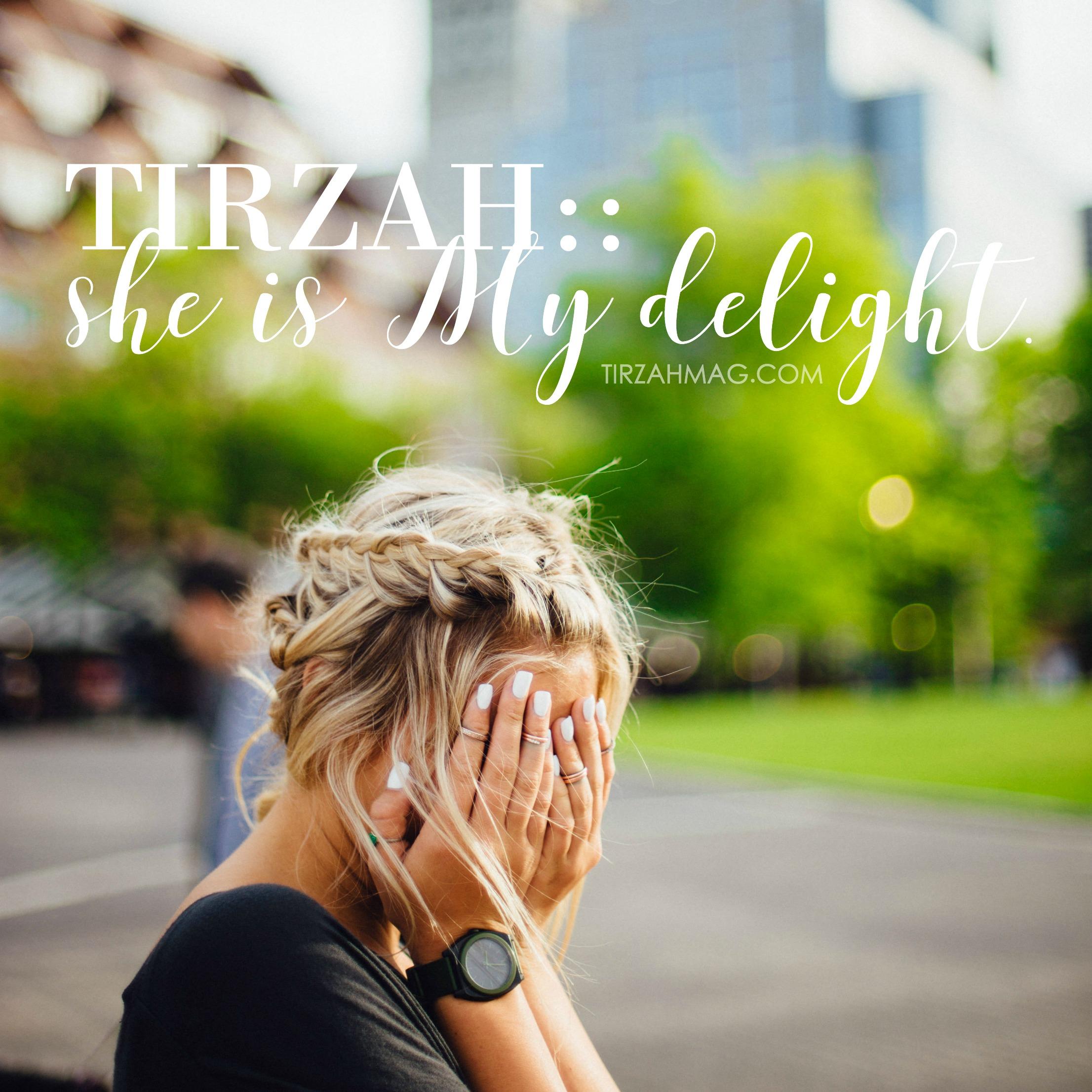 God Takes Joy in Our Joy - Tirzah Magazine