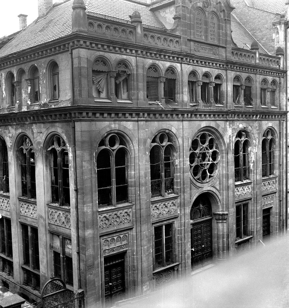 Nürnberg, Synagoge Essenweinstraße Stadtarchiv Nürnberg, A 39/I, 69 N
