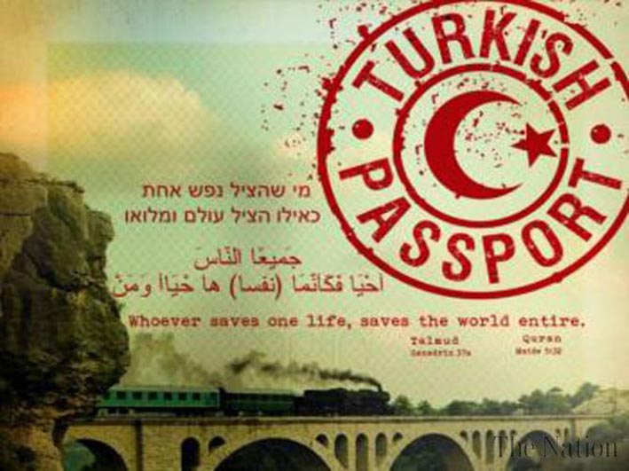 "Plakat ""Turkish Passport"". Foto: Begegnungsstube Medina e.V."