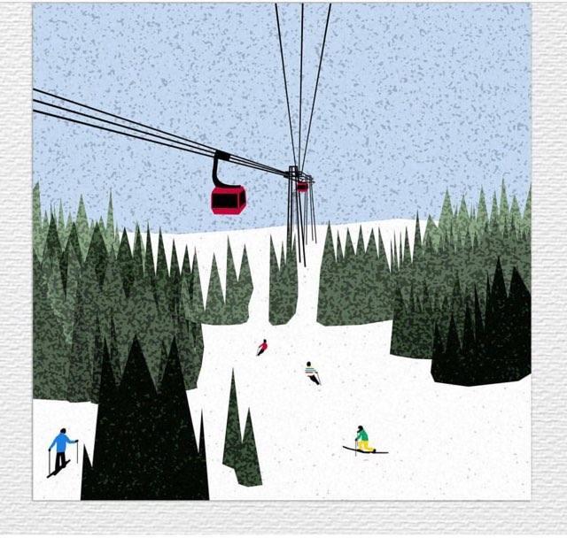 Skiing, ed. 2/10
