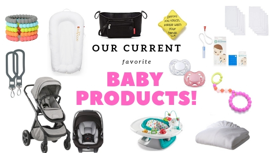 Ashley Clark Blog-Current favorite baby products