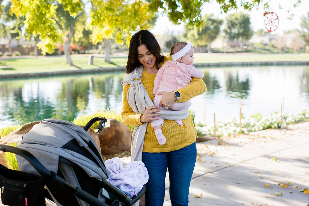 My Journey with Baby Wearing: Ashley Clark Blog