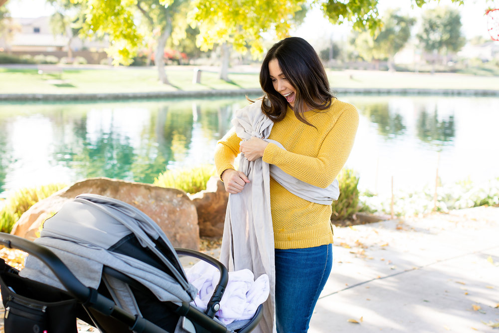 My Journey with Baby Wearing : Ashley Clark Blog