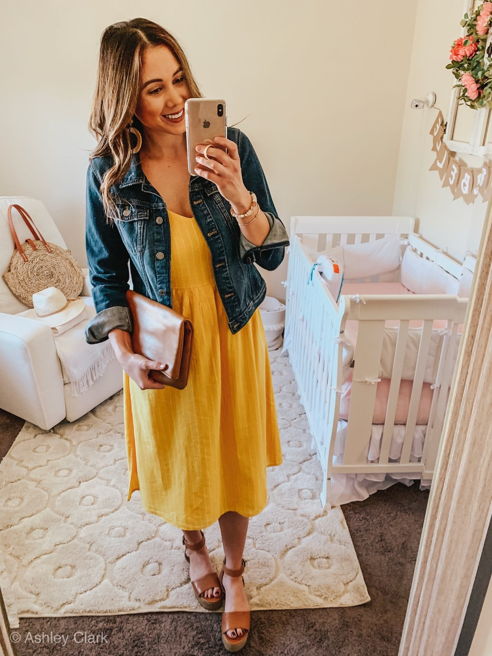 5 ways to style a dress for spring: Ashley Clark Blog